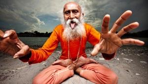 Йога в Индии фото