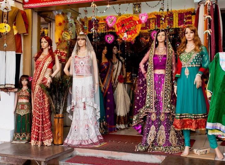 Яркие индийские наряды